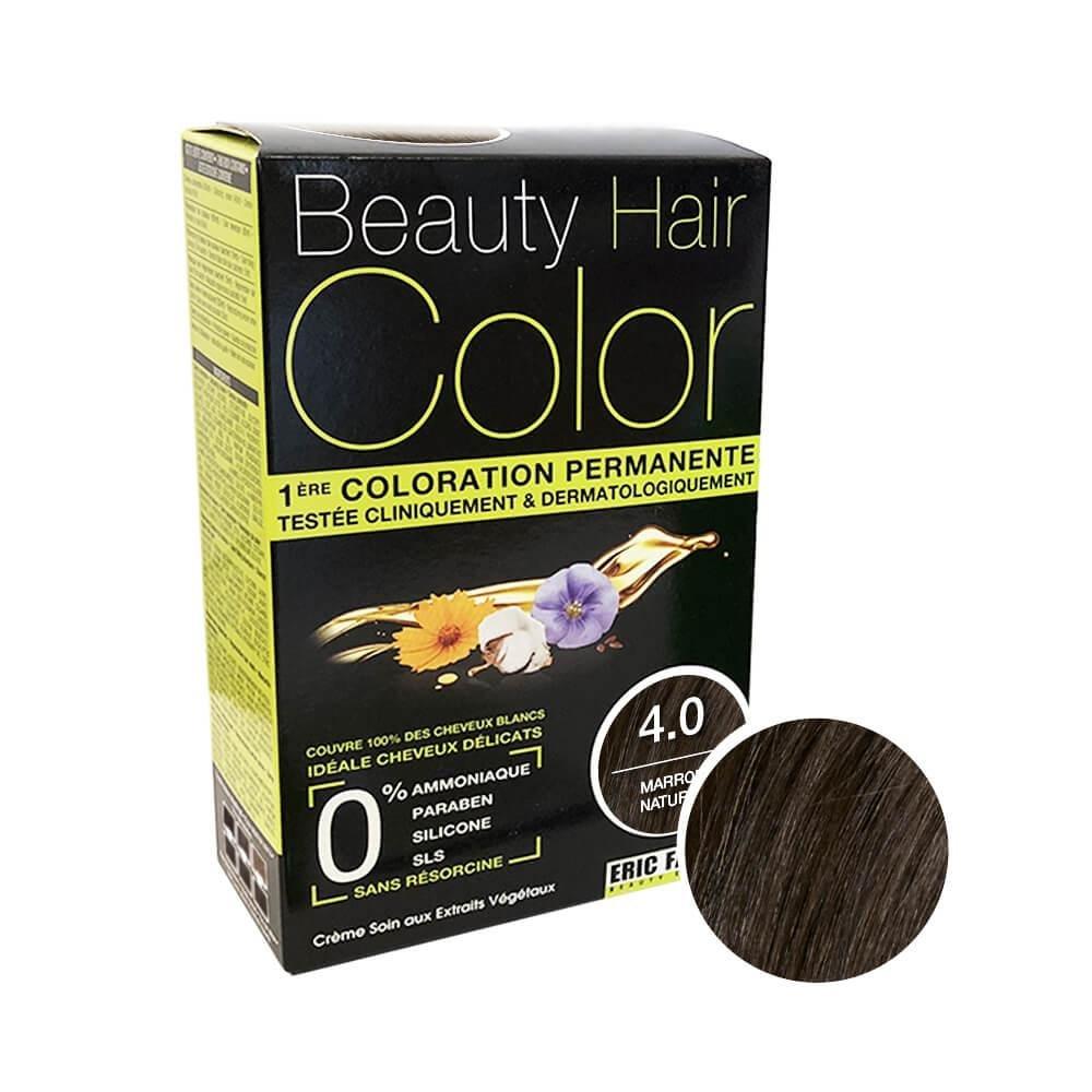 Beauty Hair Color Coloration (Marron naturel 4.0)