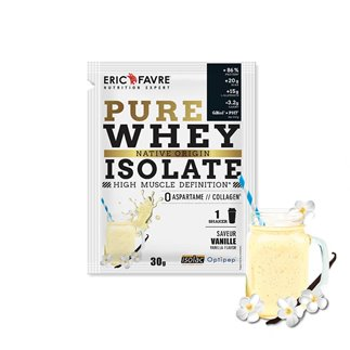 Pure Whey Protein Native 100% Isolate - Sachet Unidose