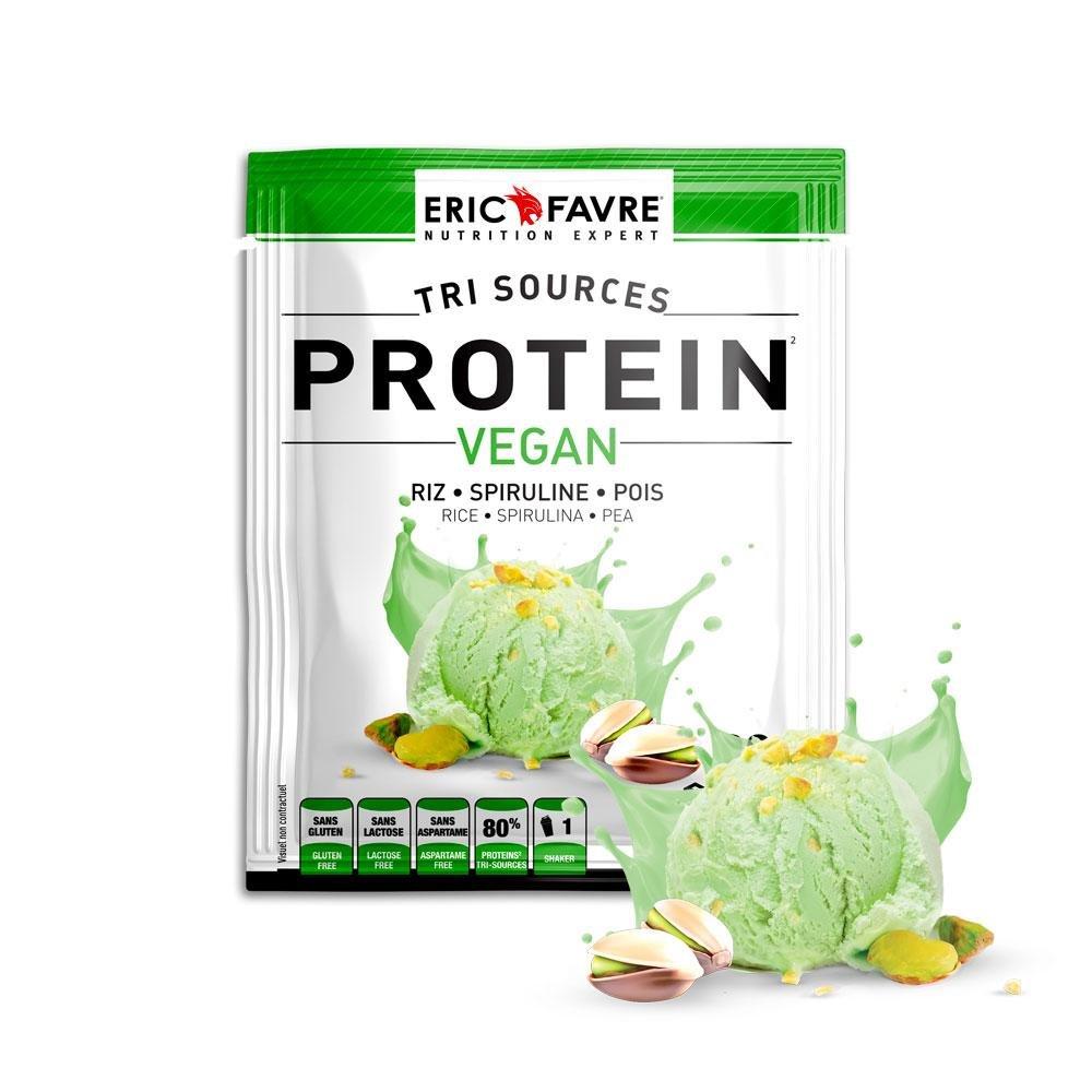 Protein Vegan, Proteine végétale tri-source - Sachet Unidose (Pistache)