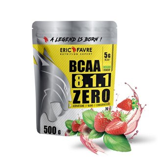 BCAA 8.1.1 ZERO Vegan 500gr
