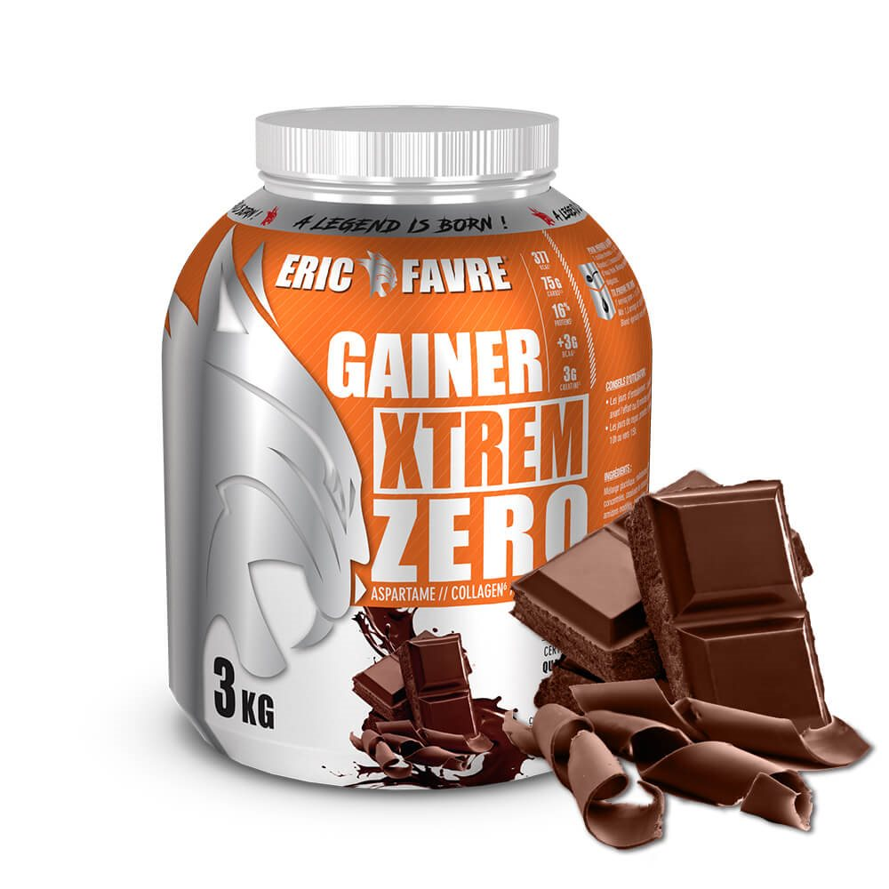 Gainer Xtrem Zero - Protéines prise de masse