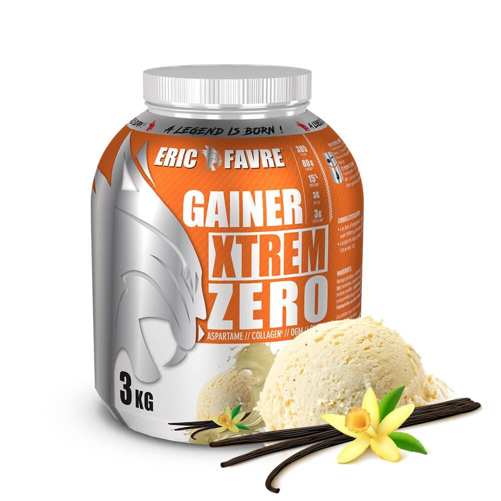 Gainer Xtrem Zero - Protéines prise de masse - Vanille
