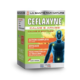 Ceflaxyne <Sup>®</Sup>, calme et apaise les zones sensibles