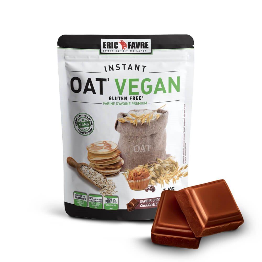 Farine d'avoine Instant OAT Vegan 1KG Chocolat