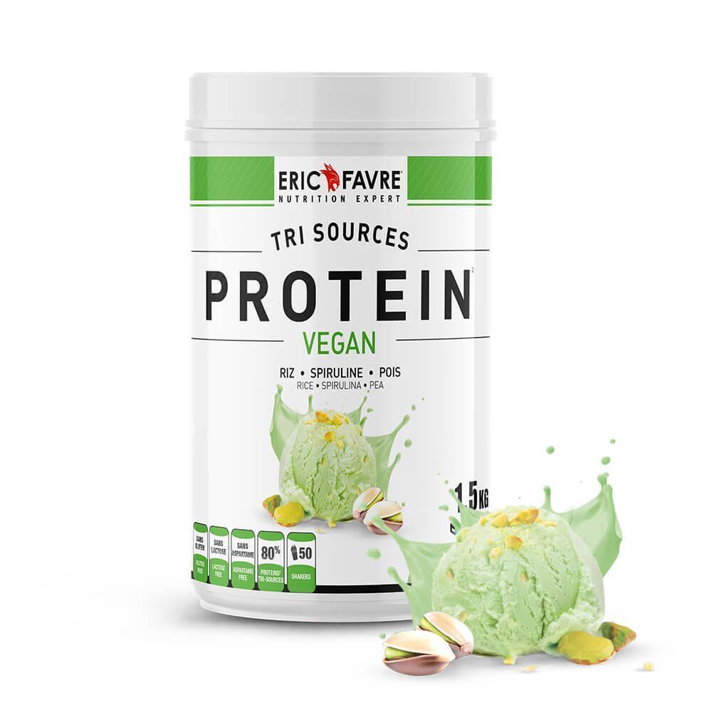 Protéines végétales tri-source, Protein vegan, Pistache