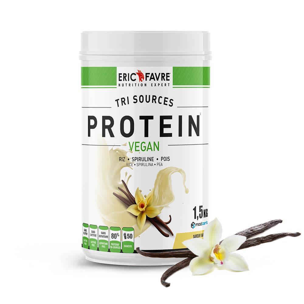 Protéines végétales tri-source, Protein Vegan, Vanille