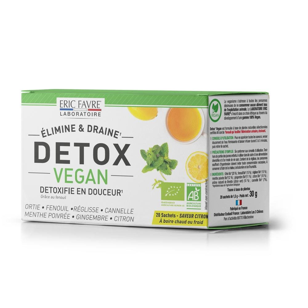 Detox vegan - Tisane drainante