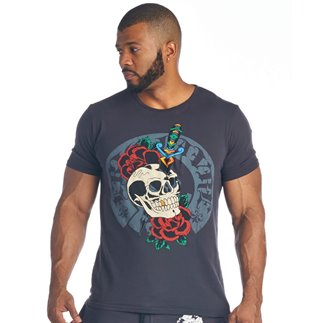 T-Shirt Rose Dagger