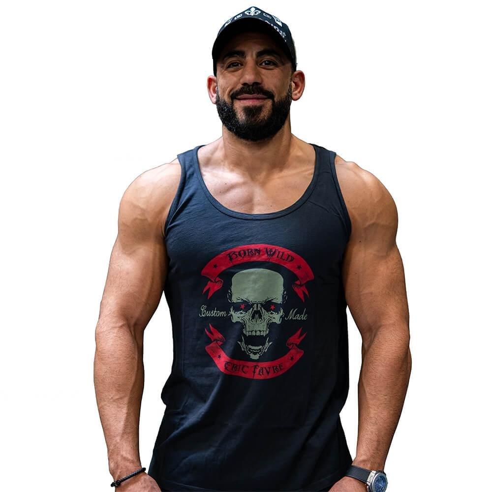 Tank T-Shirt Wild Banner