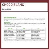 Choco Blanc - Pâte à tartiner protéinée au Chocolat Blanc