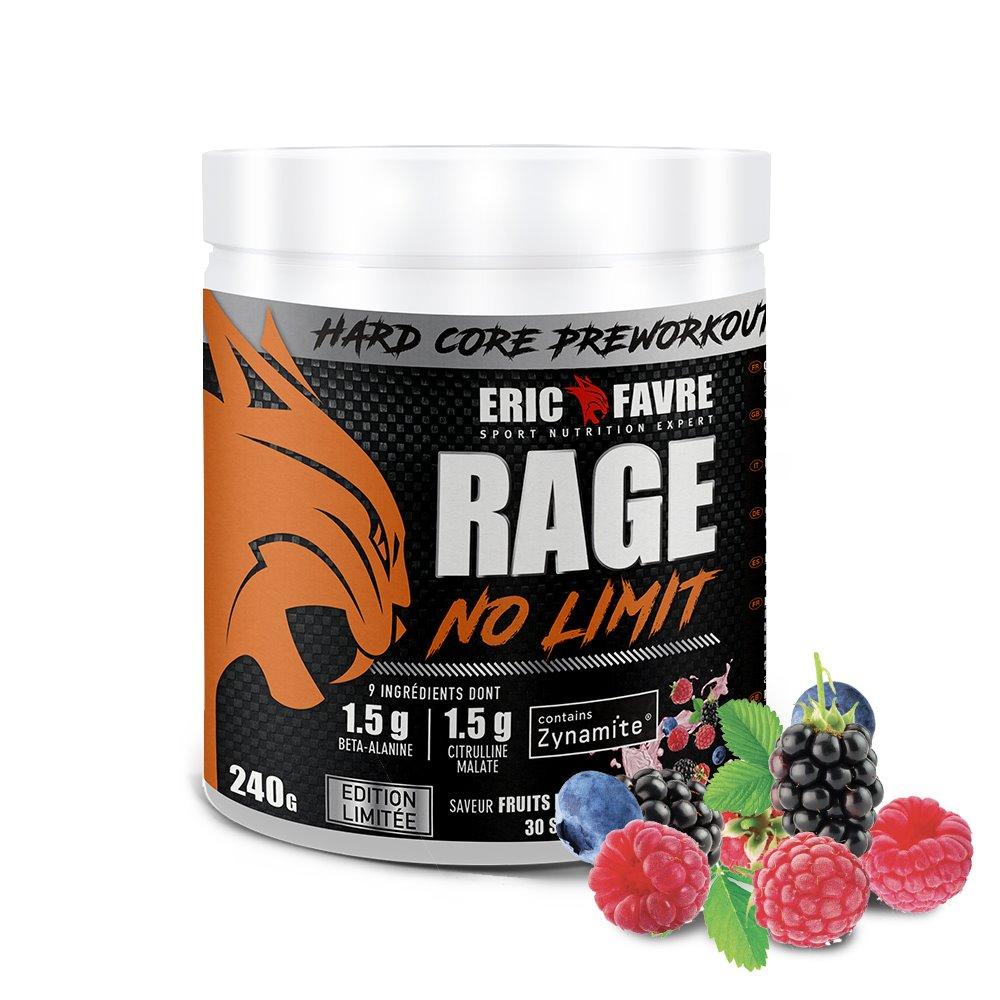 Rage No Limit - Hard Core Preworkout