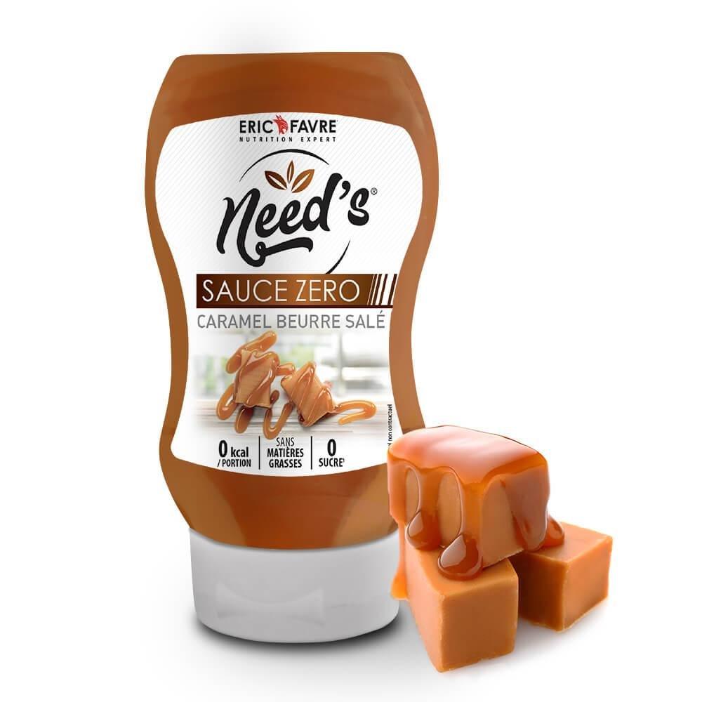 Need's Sauces Zero saveur Caramel Beurre Salé