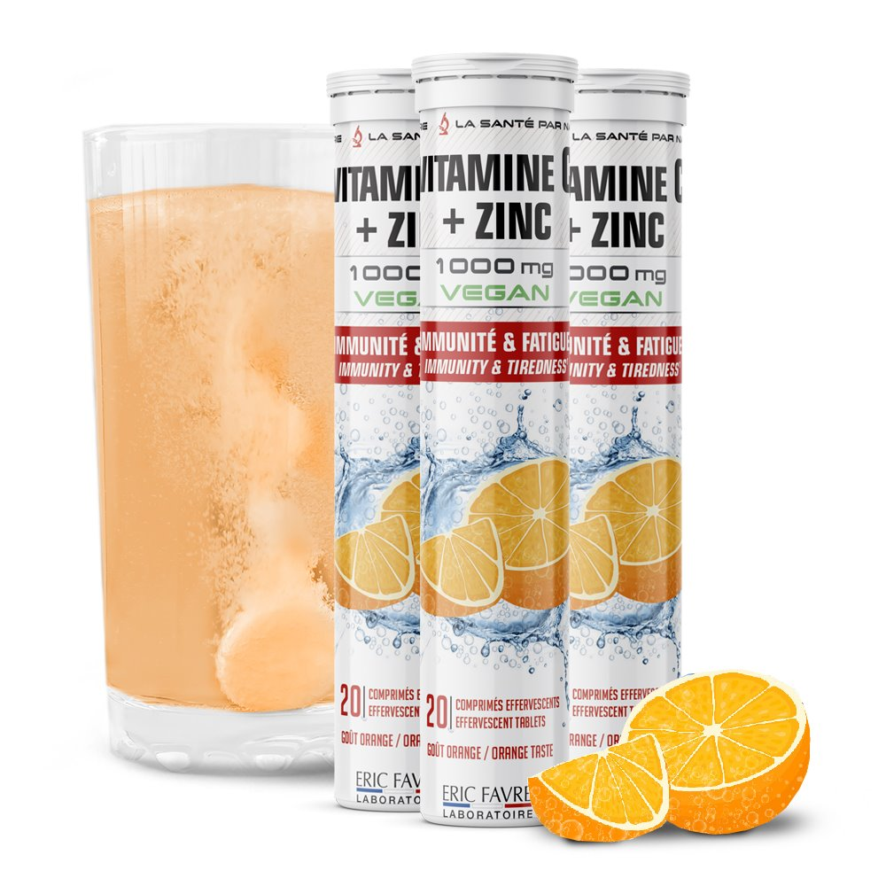 Vitamine C Effervescente - Lot de 3