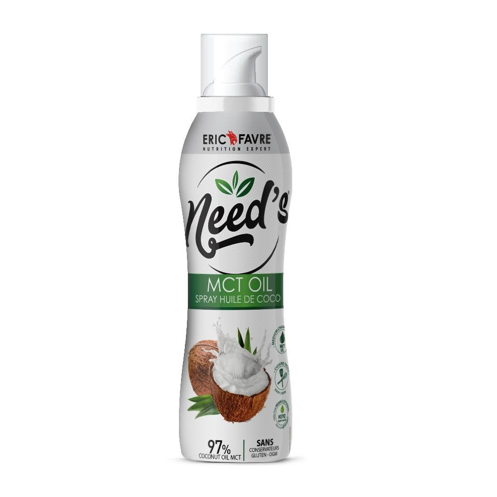 Need's MCT Oil - Spray Cuisson Coco