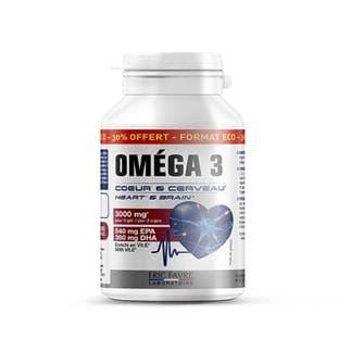Omega 3 - Cœur et cerveau - Format économique