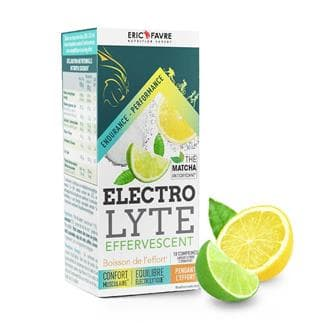 Electrolytes effervescents - Boisson de l'effort courte durée